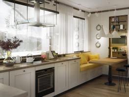 Ето какво е модерно и актуално тази година в кухненския дизайн и как да сте в крак с модата (снимки)