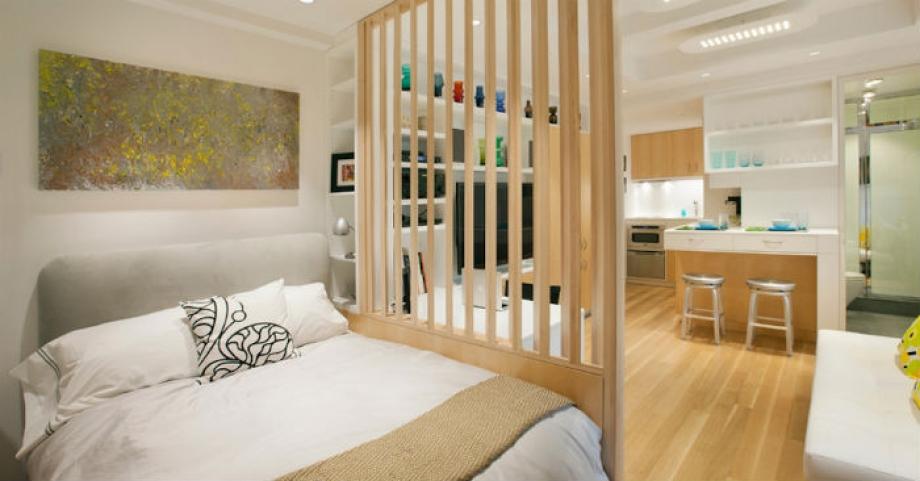 Страхотни идеи как да преустроите студиото или гарсионерата в многостайно жилище с много пространство