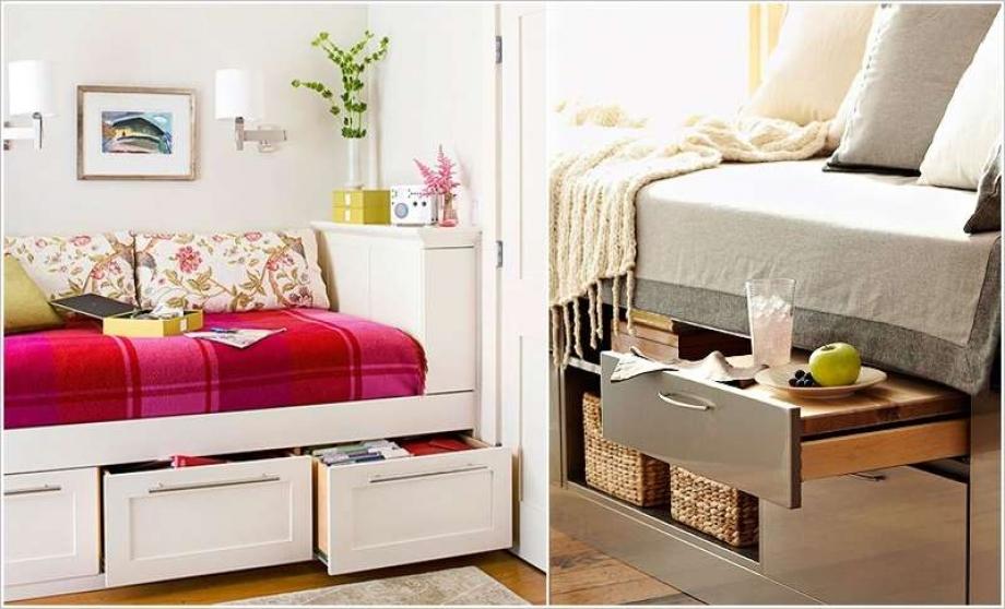 И когато мястото в спалнята не стига, ние идваме на помощ с няколко практични идеи за организиран дом (снимки)
