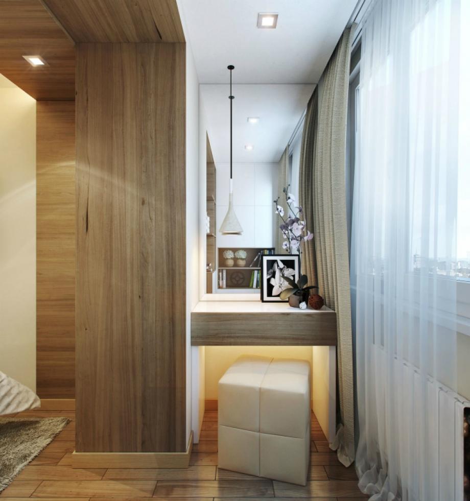 И когато е малък апартамента ви винаги бихте могли да добавите малко пространство благодарение на балкона (снимки)