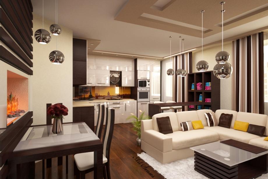 Ако кухнята и хола ви са едно, то това са най- добрите интериорни решения за вас (снимки)