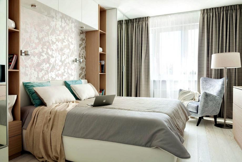 Страхотни идеи за обзавеждане на малка спалня (снимки)