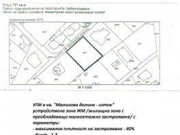 Продава Парцел Жилищна Сграда София - Малинова Долина  180000 €